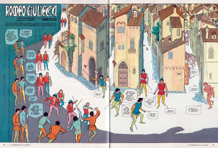 Comic as Theater: Gianni De Luca's Romeo and Juliet (1976) – SOCKS