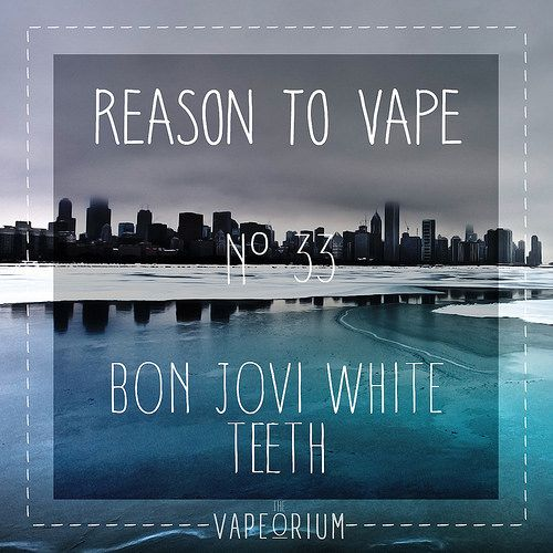 Bon jovi white teeth