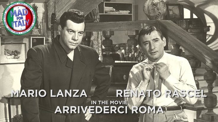 Arrivederci Roma, Cesare Rascel and Mad For Italy