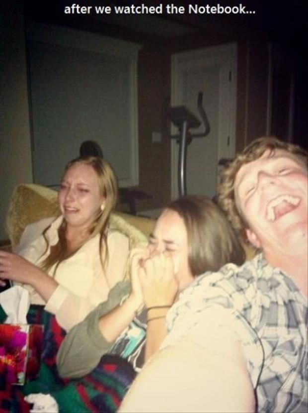 This is me and Kass and Brock laughing his head off......