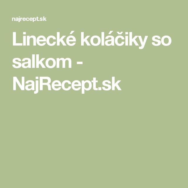 Linecké koláčiky so salkom - NajRecept.sk