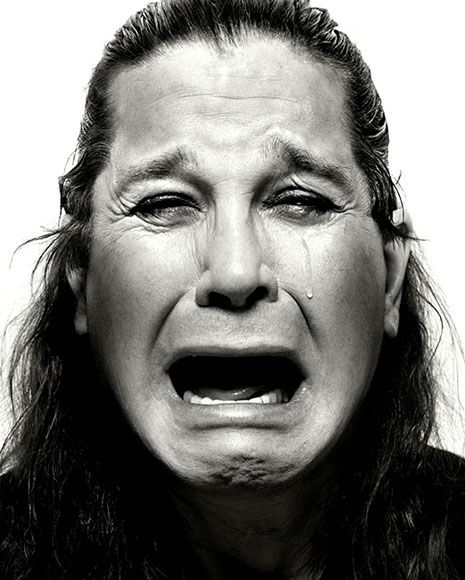 Ozzy Osbourne by Platon Antoniou.  OF COURSE I KNOW IT'S NOT COLLEEN DEWHURST... BUT IT SURE COULD BE!