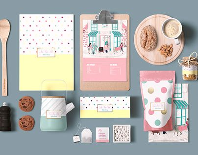 "Check out new work on my @Behance portfolio: ""Tea Time Tale Packaging and Collateral Design""…"