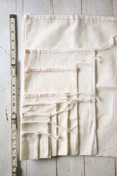 Cotton Drawstring Bags - craft show packaging?