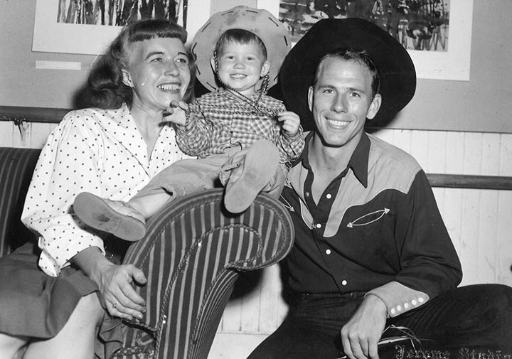 I love this photo of me with my parents, Jean and Rance Howard.  Ron Howard