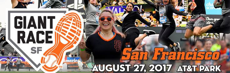 The San Francisco Giant Race provides runners and walkers the opportunity to finish distances from a 5K to Half Marathon on the same home field as their favorite players.