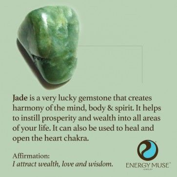Jade Stone, View the Best Jade Stones from Energy Muse Now