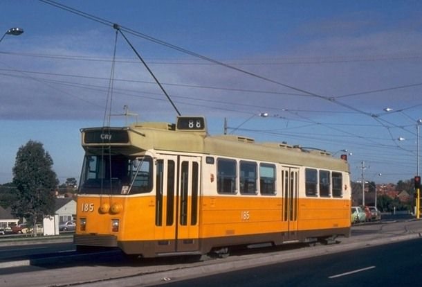Loved the Orange trams in Melbourne in the 70's!