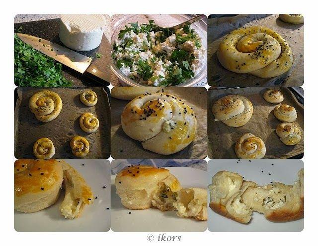 Kochen....meine Leidenschaft: Türkische Käseschnecken