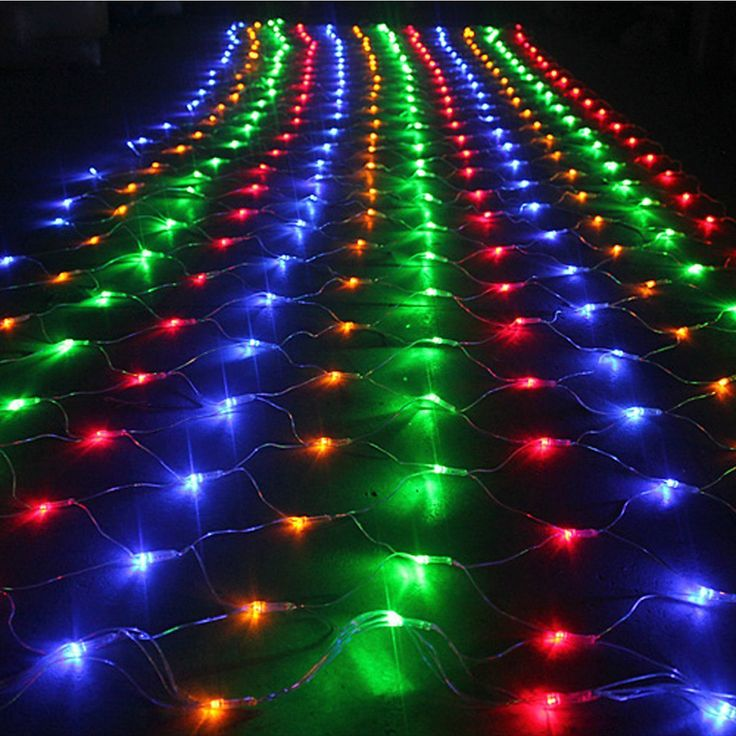 ==> [Free Shipping] Buy Best AC 220V 40W 64M 672-LED String Net Lights LED Christmas Light Wedding Party Garden Xmas String Light Outdoor Holiday Lighting Online with LOWEST Price | 32787053396