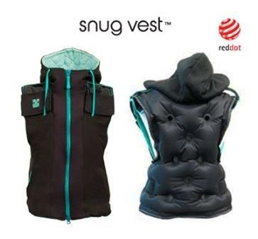 The Snug Vest is a discreet, inflatable vest that applies Deep Pressure Therapy, for kids with sensory issues, anxiety, or stress-related issues.