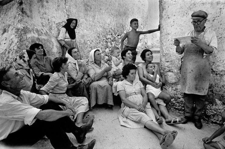 Ionian Islands. Isle of Corfu. 1962. Rene Burri.