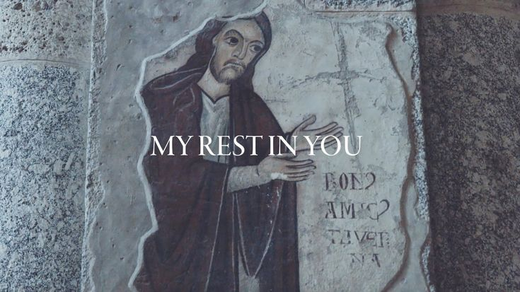 """All Sons & Daughters - Rest In You (Lyric Video) -  """"Inspired by St. Augustine's Confessions, """"Rest In You"""" was prompted by cellist Cara Fox, who traveled to Europe with the team. Written in an hour, Leslie and David ran with Cara's inspiration for the chorus: 'This is where my hope lies, this is where my soul sighs, I will always find my rest in you...""""  http://allsonsanddaughters.com/about…"""