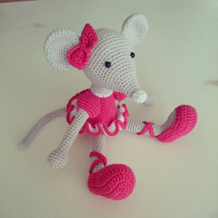 Amigurumi Mouse Ballerina : 1000+ images about ratitas on Pinterest Toys, Patrones ...