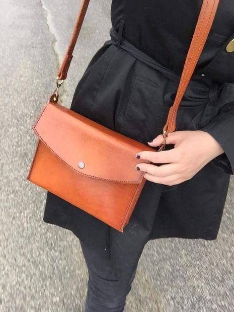 DIY Leather Purse Tutorial