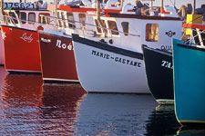 Bateaux de pêche - Îles de la Madeleine