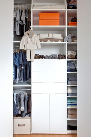 Little Boy Nursery Closet   Very Neat