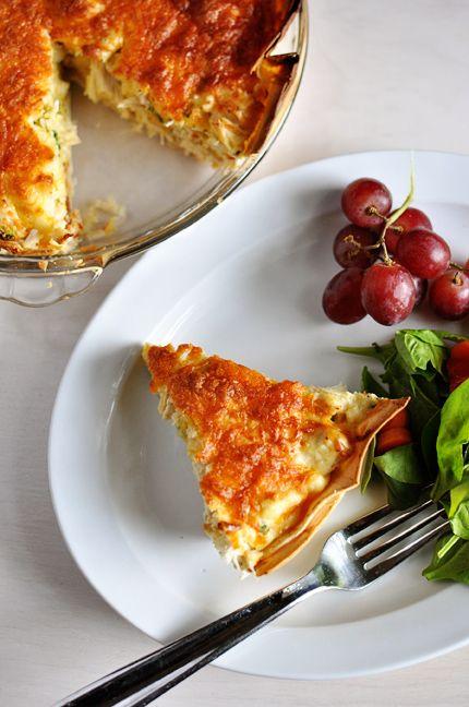 Mel's Kitchen Cafe | Cheesy Chicken Quesadilla Pie
