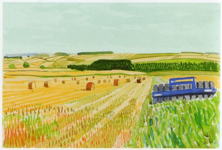 David Hockney - Midsummer, East Yorkshire, 2004