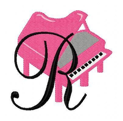 INSTANT DOWNLOAD Piano Recital Monogram by JoyfulStitchesEtsy, $16.50