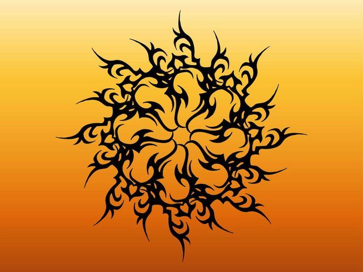 Sun Tattoo Designs | Sun Tattoo Graphics