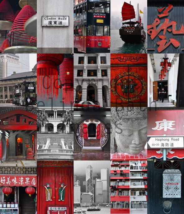 Hong Kong Montages – Personalised   Belinda Bath Images