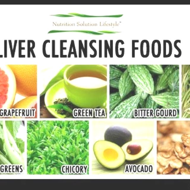 how to go on a liver detox diet