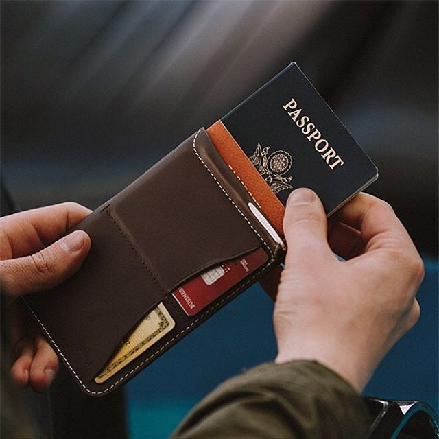 Favorite place of all time .... GO! (oh, and happy weekend, we hope you're either in your favorite place or on your way there  )  Pic by: @classfare #bellroy #passportsleeve