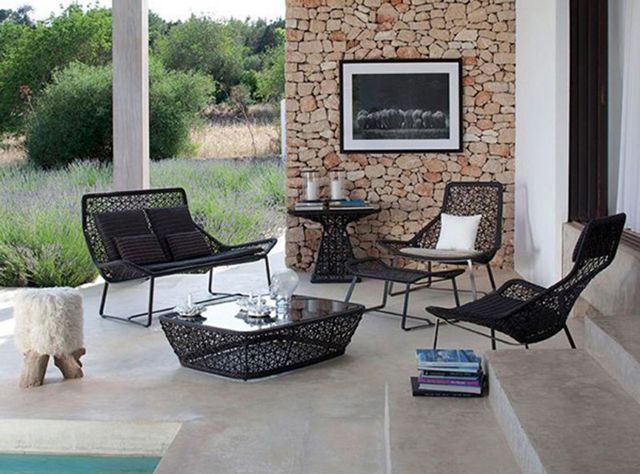 ... ideas ZEN Fountain contemporary garden furniture ideas with a small