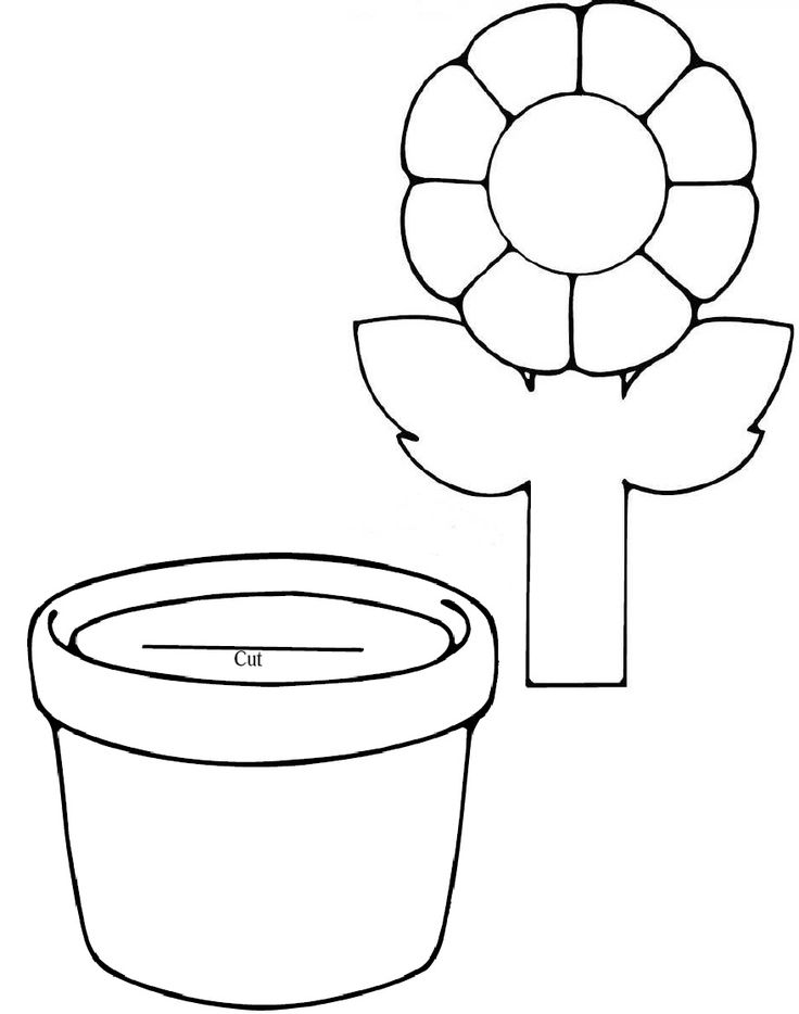 If I Were a Flower Template