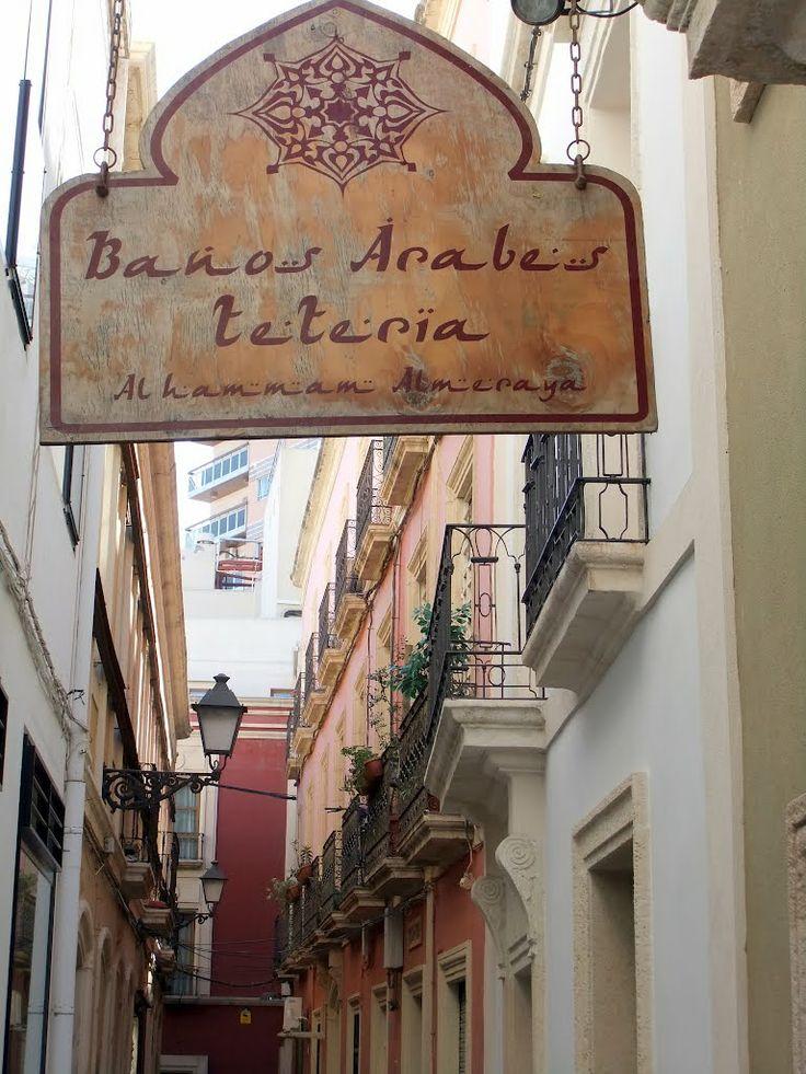 Baño Arabe En Almeria:Spain Banos Arabes