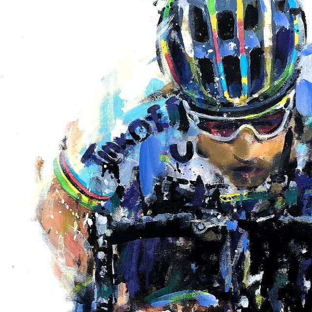PAINTING LE TOUR: World championships