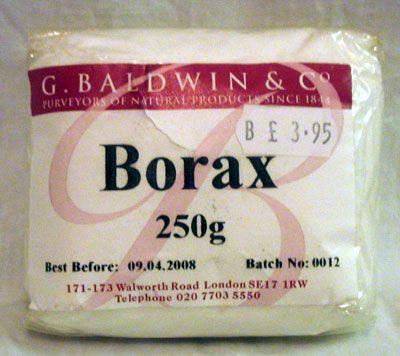 Bórax - ismertető
