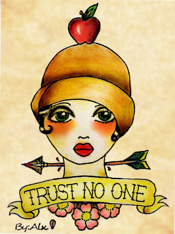 Trust no one by alejandra l manriquez sailor jerry for Trust no one tattoo