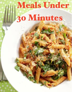 30-minute healthy meals...she has some really good ones!