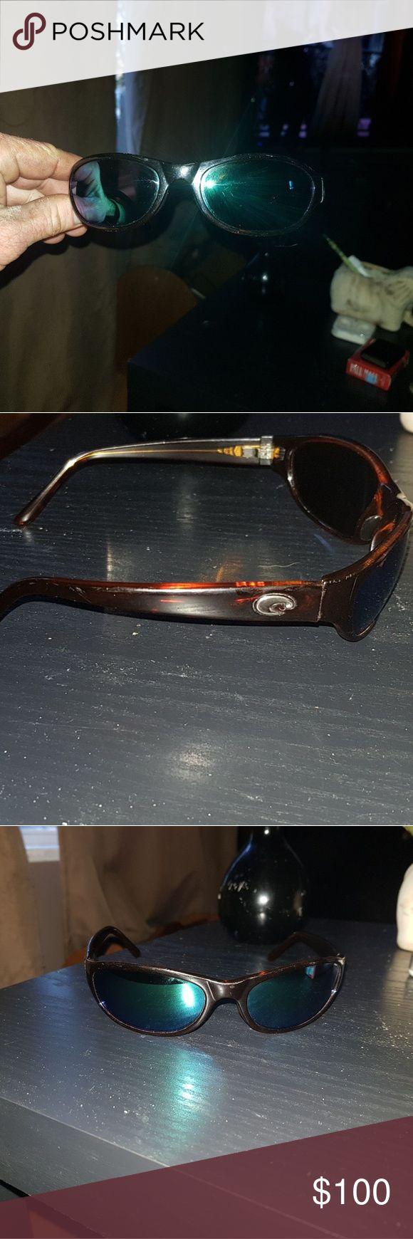 Costa Del Mar Harpoon Sunglasses 1 yr old. Has a few scratches on the plastic frames. costa del mar Accessories Glasses