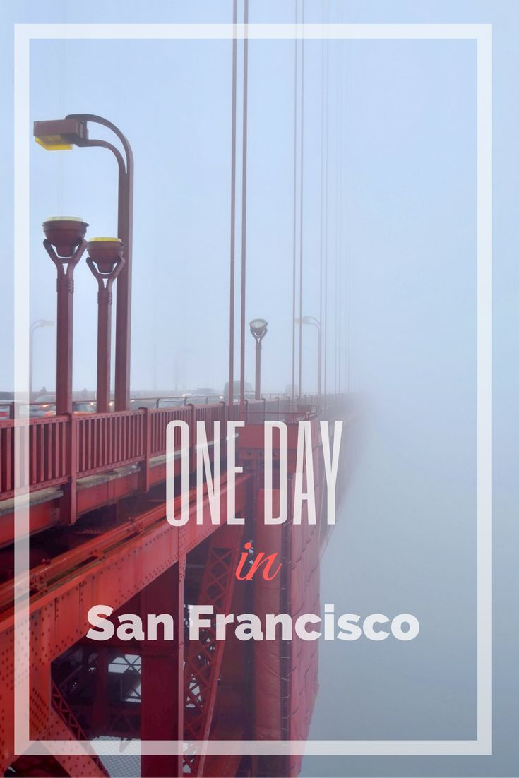 What to see in San Francisco if you have only one day? Check this out on our blog!