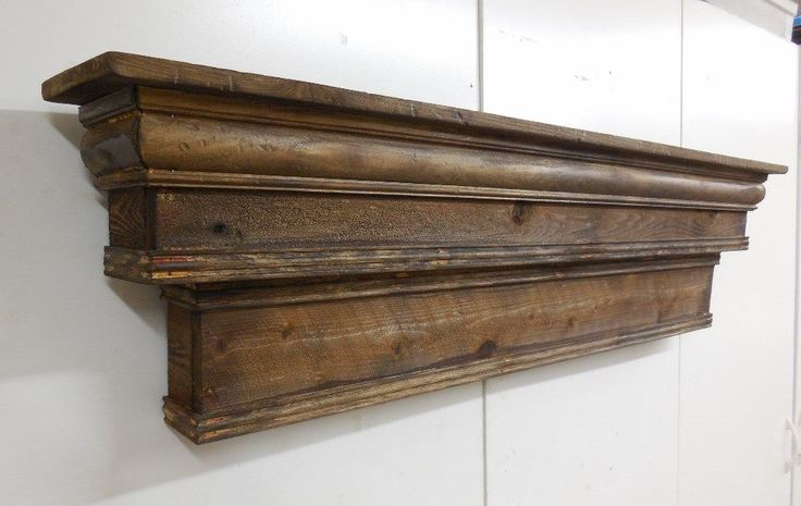 Tall Mantel, French Country Mantle Shelf, Primitive Mantel,Two level Mantel,60in | eBay