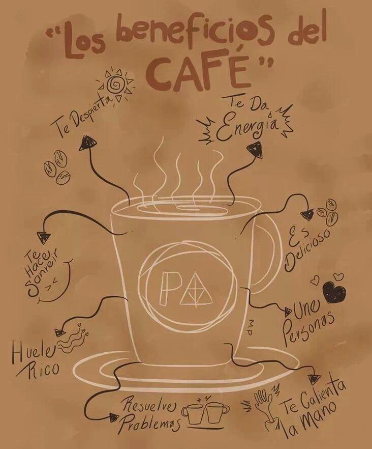Hay muchas razones para empezar la semana con una taza de café...