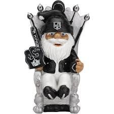 LA LOS ANGELES KINGS GARDEN GNOME SECOND STRING Male NEW IN PACKAGE