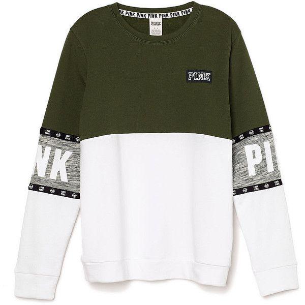 Hoodies and Sweatshirts - PINK ($50) ❤ liked on Polyvore featuring tops, hoodies, sweatshirts, shirts, sweaters, zip hoodie, pink hoodie sweatshirt, pink hooded sweatshirt, green sweatshirt and zip hoodie sweatshirt