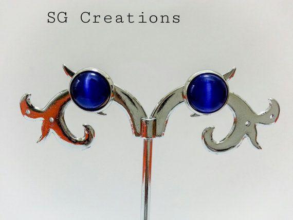 Orecchini Cat's Eyes di SGCreationsAndArts su Etsy