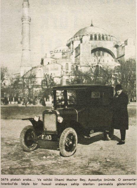 OĞUZ TOPOĞLU : istanbul'un ilk özel otomobilleri 1924 hayat dergi...