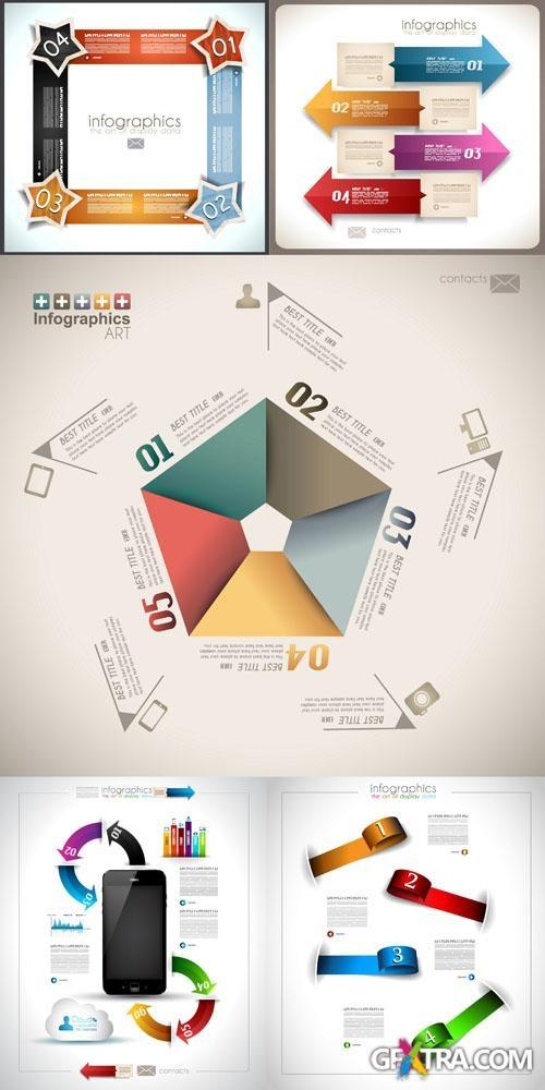 Infographics Design Elements Vector Set #2