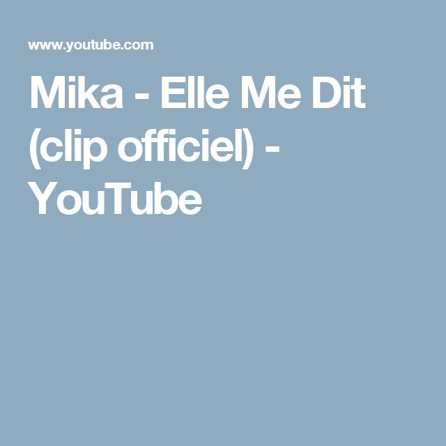 Mika - Elle Me Dit (clip officiel) - YouTube