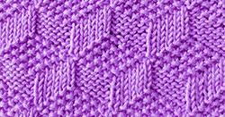 Download PDF file    Cast on a multiple of 10 stitches.  Round 1: Purl 1, knit 1.  Round 2: Purl 2, (knit 1, purl 1) 3 times, knit 2.  Roun...