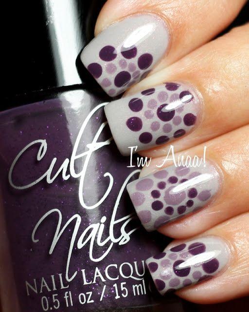 I'm A Nail Art Addict!: Nailstorming - Les Pois / Dots!