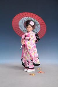 Национальный китайский костюм с сакурой