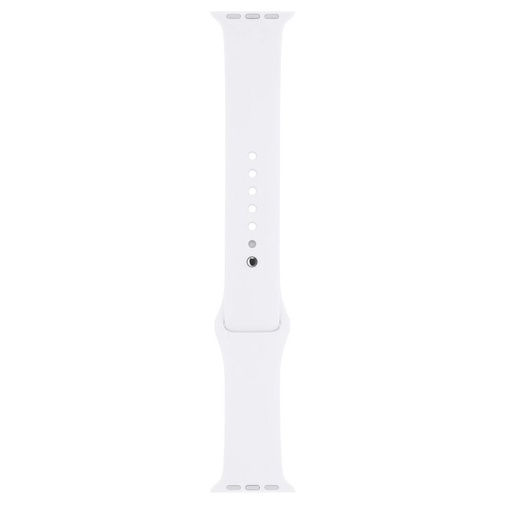 Apple Watch 38mm Sport Band - White, Adult Unisex