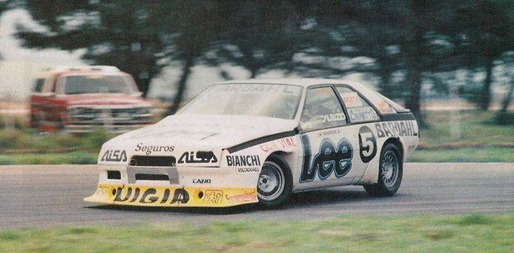 Juan María Traverso Coupé Renault Fuego - Pigüé 1986,